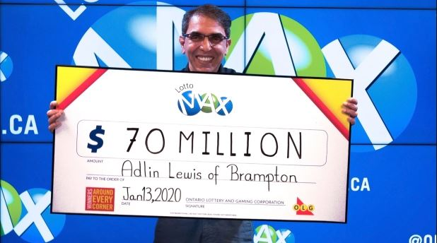 Adlin winner of Lotto MAx